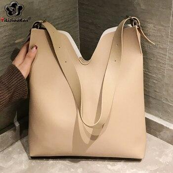 Luxury Handbags Women Bags Designer Casual Women Handbag Famous Brand Leather Ladies Hand Bags Simple Shoulder Bag for Women Sac цена 2017