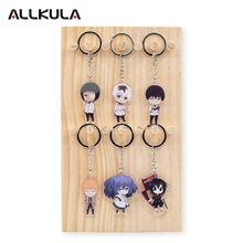 2018 Tokyo Ghoul Re Action Figure for Keychain Kaneki Ken Customized Double Sided Game Peripherals Best Gift AKL152 anime tokyo ghoul figure toys mask ken kaneki melanism pvc action figure collection model toy gift