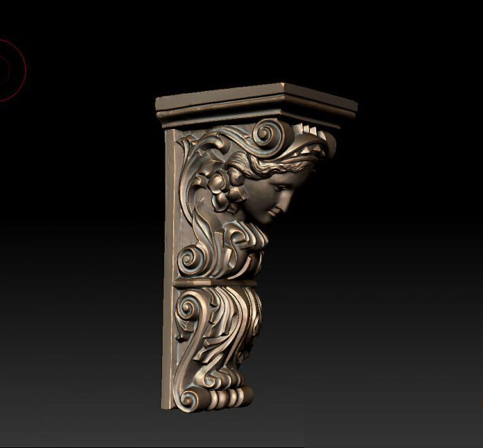 New Model 3D Model For Cnc Or 3D Printers In STL File Format Socrates