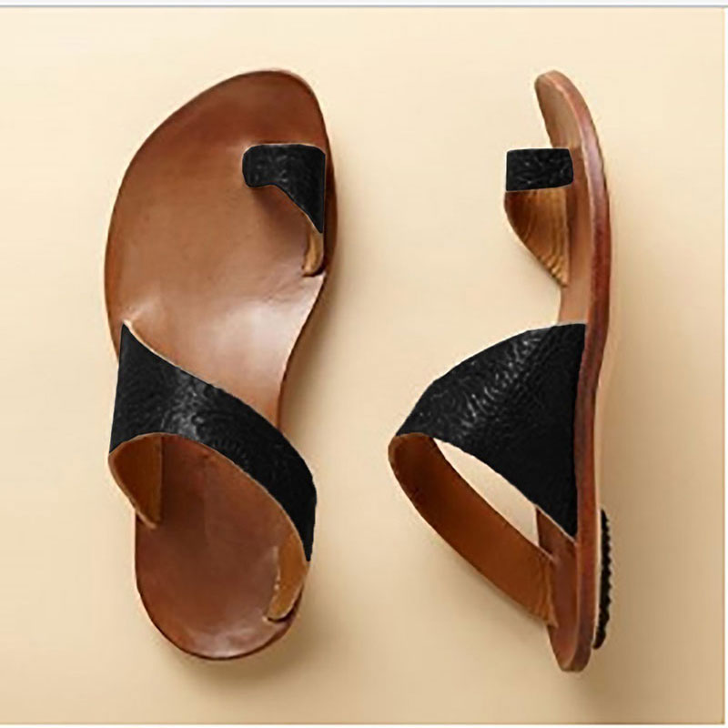 Summer Sandals Women Plus Size 35-43 2018 Summer Women's Flip flops beach Style Brand Flats Sandals black Shoes Sandalias summer style comfortable bohemian wedges women sandals for lady shoes high platform flip flops plus size sandalias feminina z567