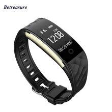Betreasure Bluetooth S2 Smart Браслет Heart Rate Мониторы IP67 Водонепроницаемый Спорт Smart Band Фитнес трекер умный Браслет