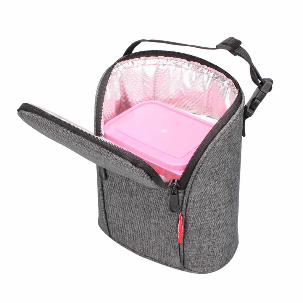 Portable Multi-function Aluminum Film Lunch Bag Portable Insulation Milk Vegetable Lunch Box Bag For Women Men Kids H0521
