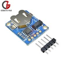 3,3 V 5V I2C PCF8523 РТК часы реального времени в собранном виде коммутационная плата CR1220 катушкой сотовый Батарея гнездо держатель для Arduino Таймер сигнализации