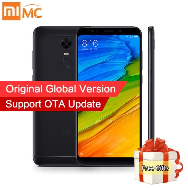 "Global Version Xiaomi Redmi 5 3GB 32GB Smartphone 18:9 Full Screen 5.7"" HD Display Snapdragon 450 Octa Core 12MP Camera MIUI 9"