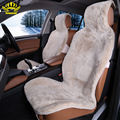 1pc 100% Natural fur Australian sheepskin car seat covers universal size for one front seat cover accessories  automobiles 2015