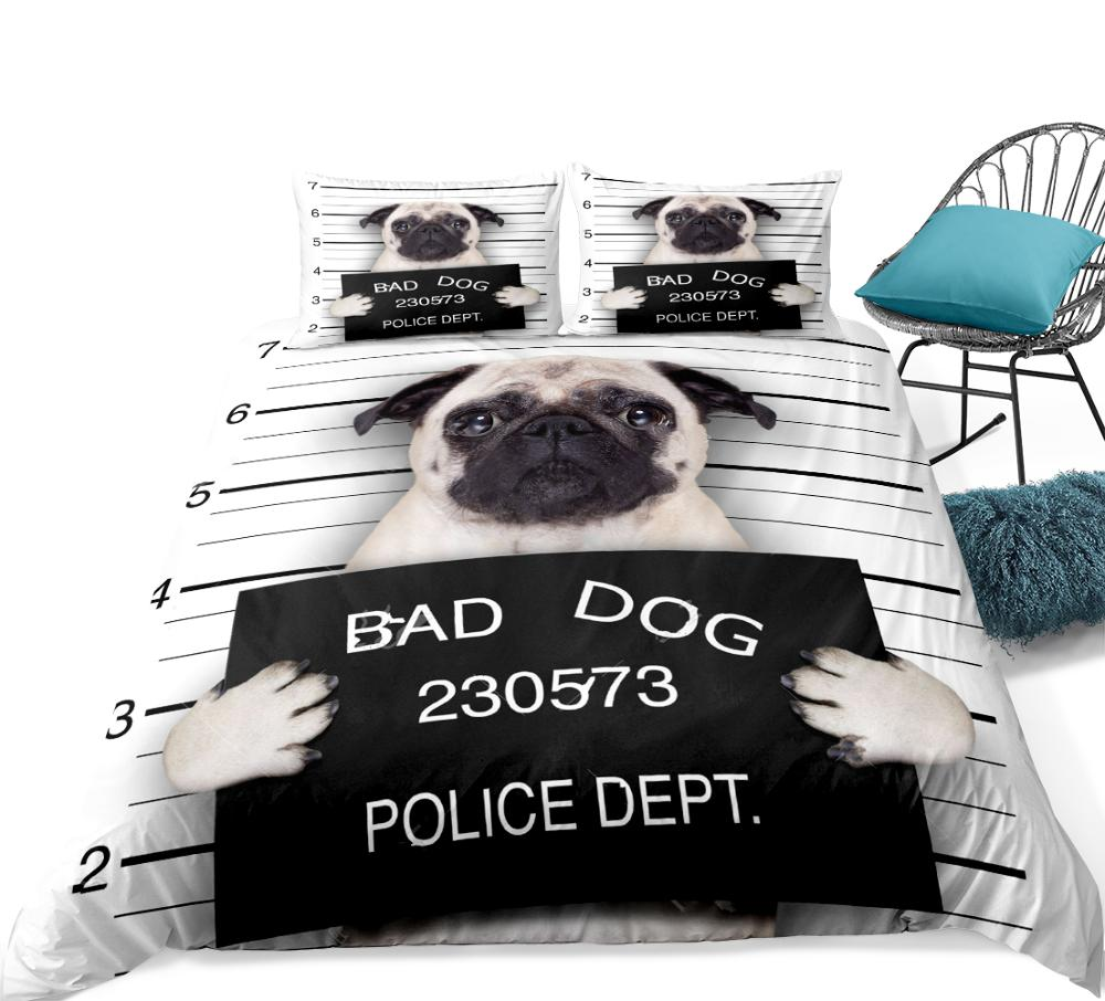 Puppy Quilt For Teen Cartoon Pet Bed Set Cute Dog Patterned Bedspread King Size Ebay
