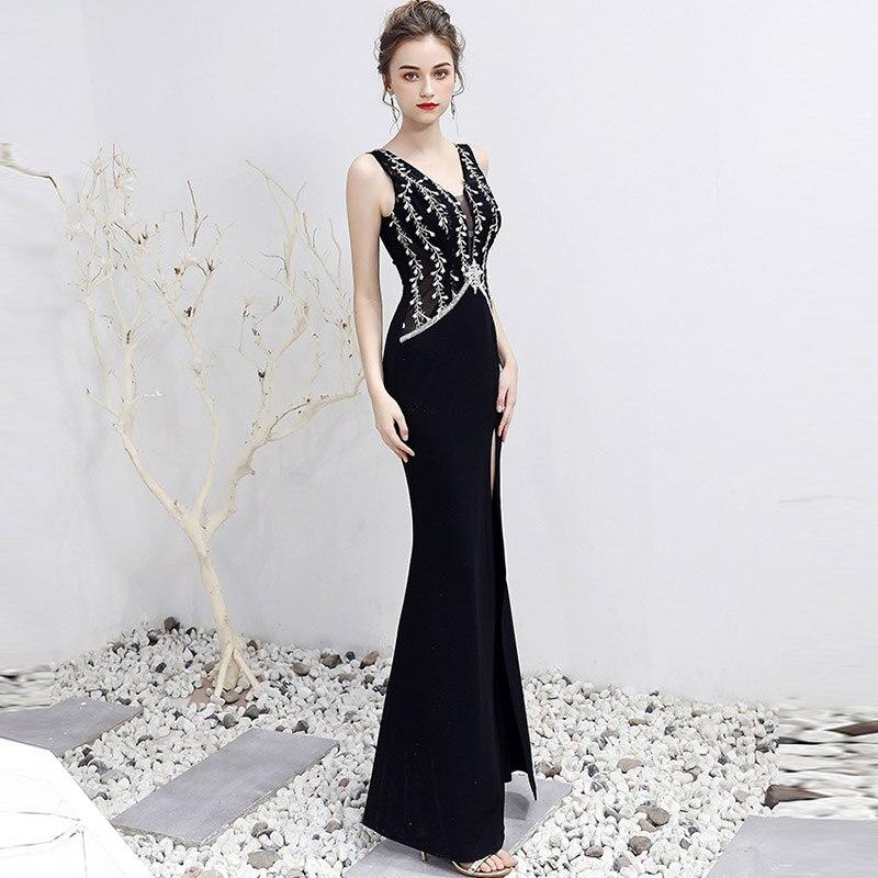 Французская Кружевная Ткань 5yds/pce dhl, черные камни, узор в виде листьев, бархатная ткань для женщин, великолепное элегантное платье, Новое пос... - 2