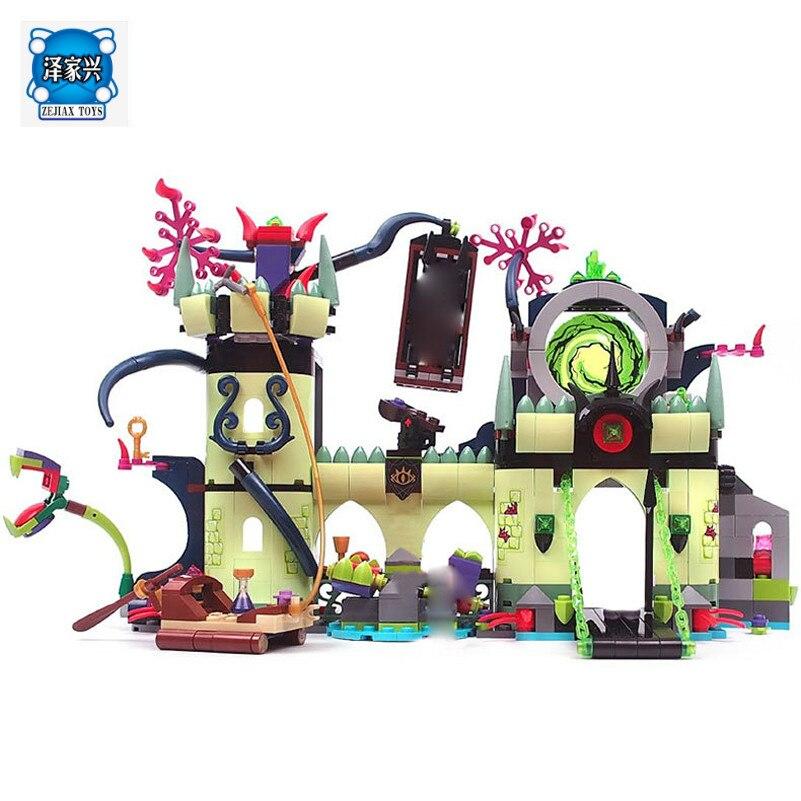 Королевский замок lepines Новый Мастер серии Побег ABS сборка дети Игрушечные лошадки здания Конструкторы комплект друзья Совместимость хобби