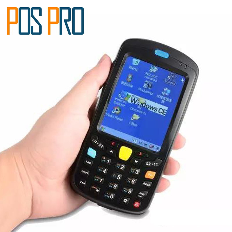IPDA019 Free Charger Cradle POS Windows CE5.0 Barcode Scanner Handheld POS Terminal PDA Bluetooth 4.1 Support GPRS Wifi 2D