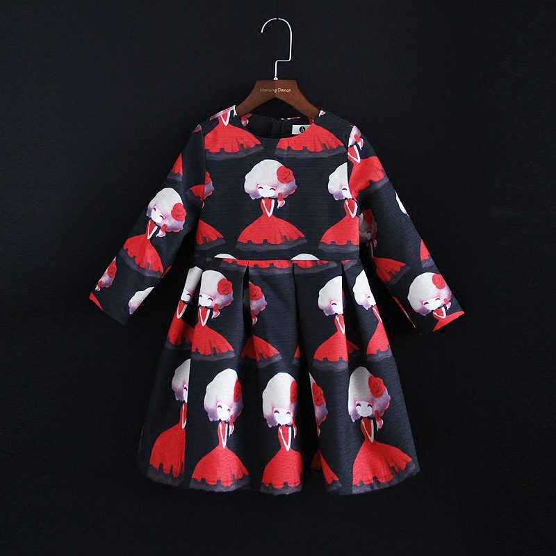 Spring new women fashion dress mom & baby kids girl long sleeve pleated clothes mother and daughter dress family matching outfit e2c free shipping new radiator engine cooling fan for audi a4 quattro a4 oe 8e0 959 455k 8e0959455k