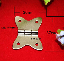50Pcs White butterfly hinge / ordinary flat hinge / hinge box / jewelry / Hardware Small hinge Wholesale