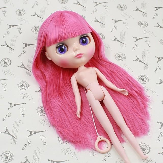 ICY Neo Blythe Doll Çəhrayı Saçların Daimi Bədəni