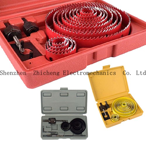 8 Pieces Woodworking Carpenter Down Lights Hole Cutter Saw Holesaw Kit Set Random Color down the rabbit hole