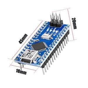 Image 5 - 10 stücke NANO 3,0 controlador kompatibel con arduino NANO CH340 turno USB controlador ninguna KABEL V3.0 NANO für Arduino
