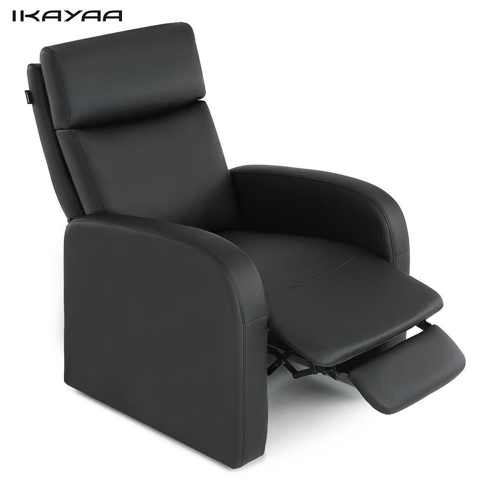 Ikayaa modern comfortable living room sofa recliner bounded leather glider sofa push back - Modern leather recliner that is totally comfortable ...