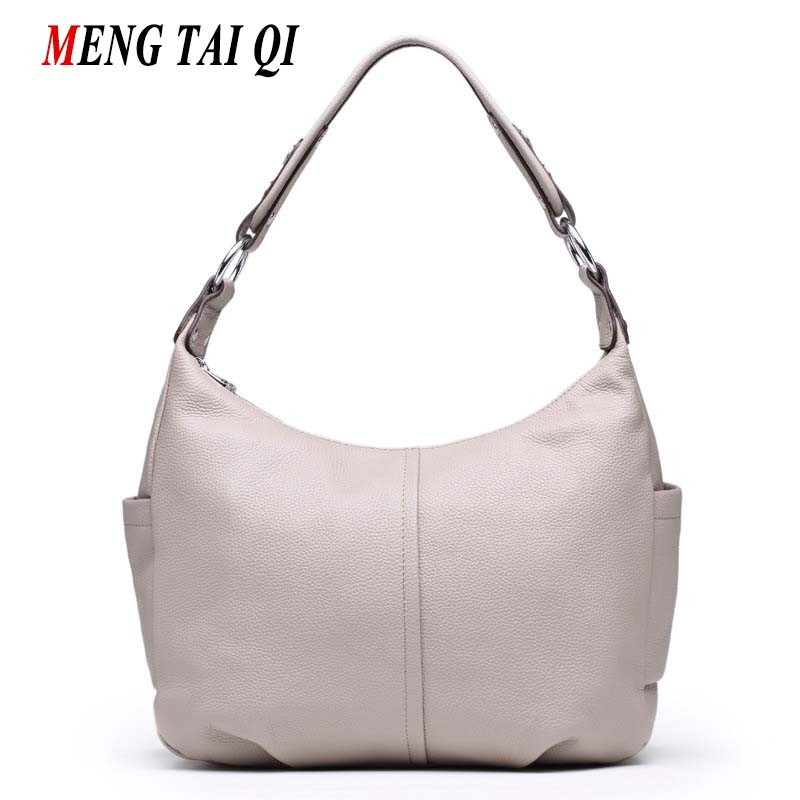 New Arrival Genuine Leather Bag Women Handbag Women Messenger Bags Vintage Cross Body Shoulder Bag Woman Designer Famous Brand 4 new arrival fashion women leather tassels handbag cross body single shoulder bucket bag lady girls vintage messenger bags bolsa