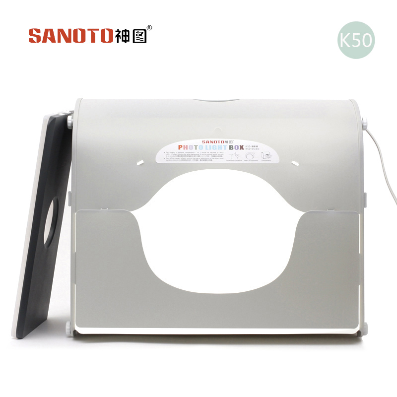 LED studio photo professionnel Portable Mini Kit Photo photographie Studio boîte à lumière SANOTO Softbox k50 pour 220/110 V EU US UK AU