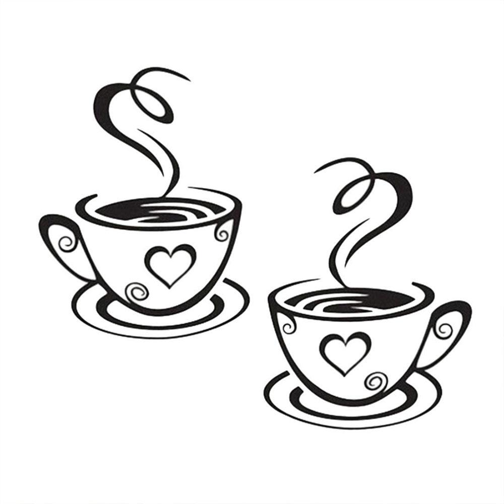 HTB1bIAxdgjN8KJjSZFCq6z3GpXaB - Wall Sticker Coffee Cups For Kitchen