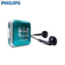 Lo nuevo PHILIPS Reproductor de MP3 Deporte Estudiantes Mini grabación de FM walkman SA2208