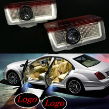 JURUS New Arrival 2Pcs Car Logo Door Welcome Light LED Projector Laser For Infiniti Q30 2016 Automobile Ghost Shadow Lights