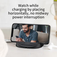 Wireless Charger 10W - QC 3.0 Fast Charging Desktop Stand with Heat Dispension Fan 8