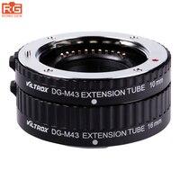 Viltrox AF Macro Extension Tube Metal Mount Rings Auto Focus for Micro 4/3 M4/3 MFT DG-M43 for Olympus E-P1 E-P2 Panasonic Lens