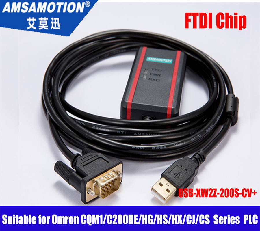 Isolated USB-XW2Z-200S-CV+ suitable Omron CQM1/C200HE/HG/HS/HX/CJ/CS Series PLC цена