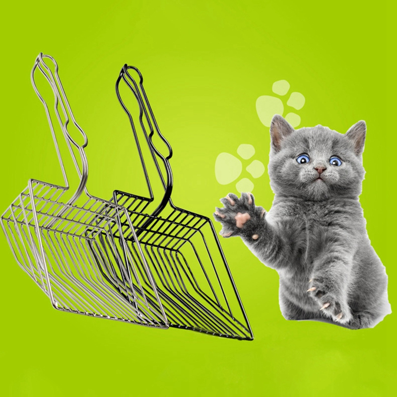 Useful Cat Pooper Scoopers Cat Litter Sand Shovel Pet Shit Artifact Dogs Waste Stainless Steel Metal Shovel Cleaning Scoop ToolUseful Cat Pooper Scoopers Cat Litter Sand Shovel Pet Shit Artifact Dogs Waste Stainless Steel Metal Shovel Cleaning Scoop Tool