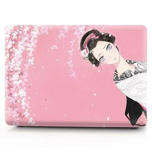 Image 2 - Farbe druck notebook fall für Macbook Air 11 13 Pro Retina 12 13 15 zoll Farben Touch Bar Neue Pro 13 15 oder Neue Air 13 Kimono