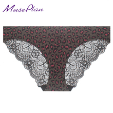 S 3XL seamless low Rise women s sexy lace lady panties seamless cotton breathable panty Hollow