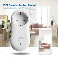 WiFi Wireless intelligente Presa Timer Houshold Alexa App Remote Power Control interruttore White AC 100-240 V 50/60Hz EU UK US Plug Vendita Calda