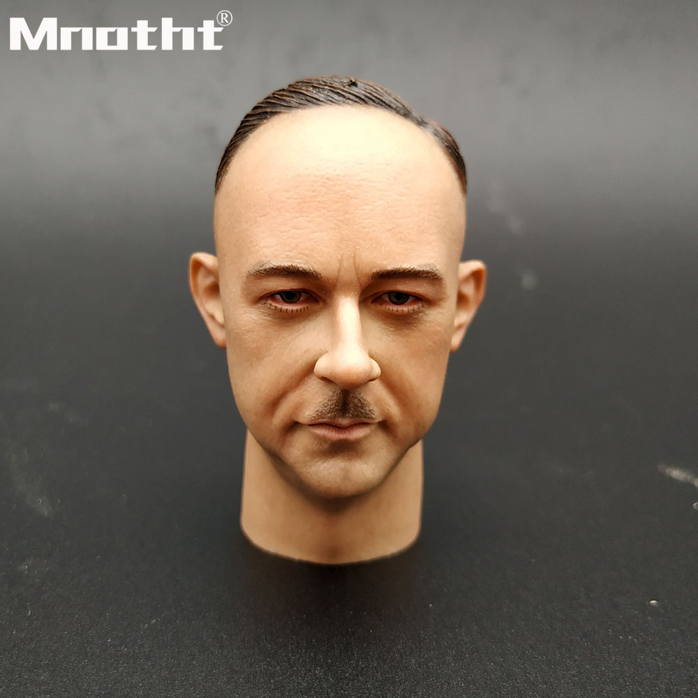 1 6 Scale Heinrich Himmler Head Sculpt WWII Male Soldier Head Carving Model toys for 12inch