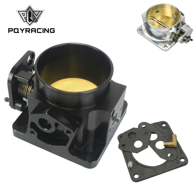 PQY - BLACK 75MM BILLET CNC THROTTLE BODY FOR 86-93 FORD MUSTANG GT COBRA LX 5.0 PQY6958BKPQY - BLACK 75MM BILLET CNC THROTTLE BODY FOR 86-93 FORD MUSTANG GT COBRA LX 5.0 PQY6958BK