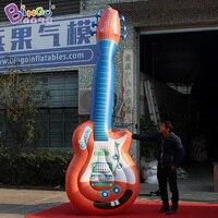 Герметичный 3.5 м надувные Гитары/цифровые печатные гигантские надувные Гитары для украшения игрушки
