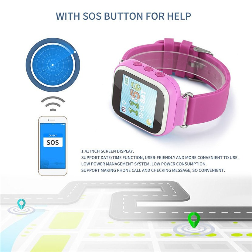 Smart Watches Gentle T10 Child Smartwatch Safe-keeper Sos Call Anti-lost Monitor Real Time Tracker Base Station Location Gps Watch Phone Smart Watch Smart Electronics