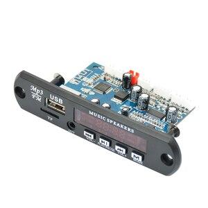 Image 2 - AIYIMA 2,0 Kanal Bluetooth Verstärker Bord Stereo 10W * 2 MP3 Decoder Unterstützung FM APE MP3 WAV WMA USB soundkarte APP 12V