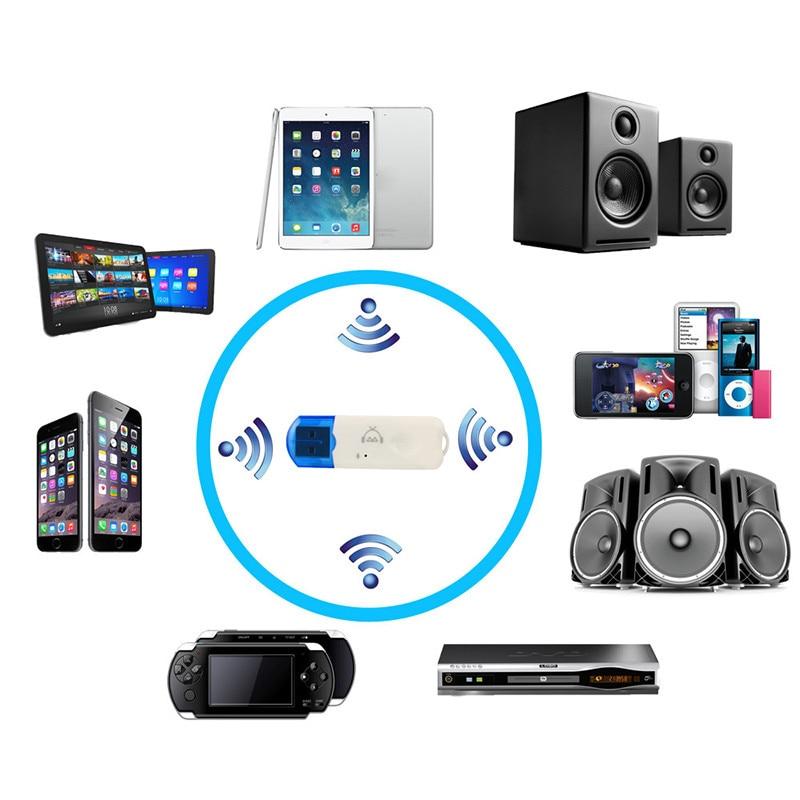 Usb Bluetooth Stereo Audio Musik Wireless Receiver Adapter Für Auto Nach Hause Lautsprecher Musik-empfänger-adapter Für Hause Auto Kopfhörer Diversifizierte Neueste Designs Unterhaltungselektronik