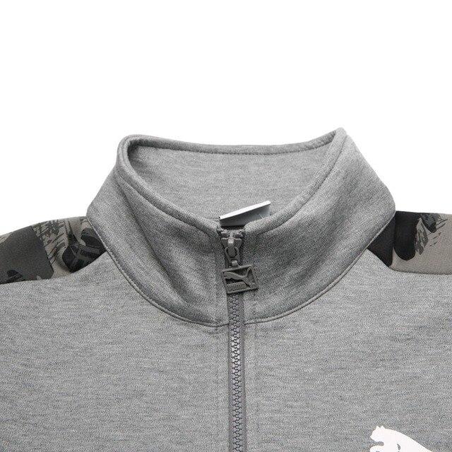 Original New Arrival 2018 PUMA Archive T7 jacket, Double Knit Men's jacket Sportswear 3
