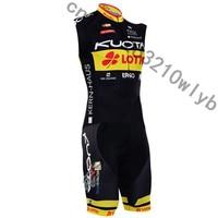 2019 KUOTA Pro team Triathlon Cycling Sleeveless jersey Vest shorts sets summer quick dry MTB Bike sportswear Skinsuit