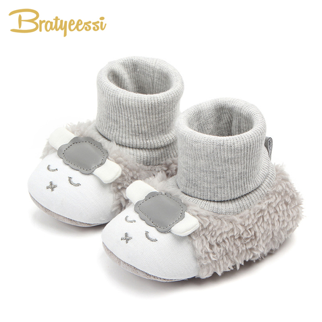 366a43aa1 new baby boy snow boots warm plush winter navy infant boot toddler ...