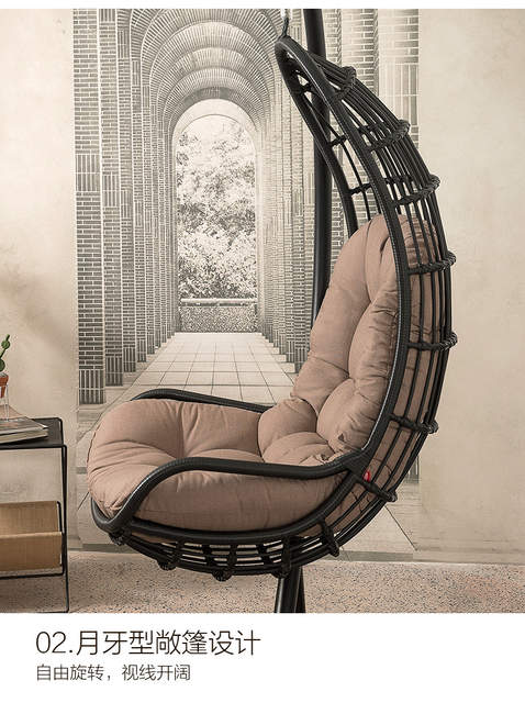 Amazing Us 550 0 Louis Fashion Kuka Concise Rattan Chair Outdoor Leisure Living Room Balcony Creative Basket In Chaise Lounge From Furniture On Aliexpress Machost Co Dining Chair Design Ideas Machostcouk