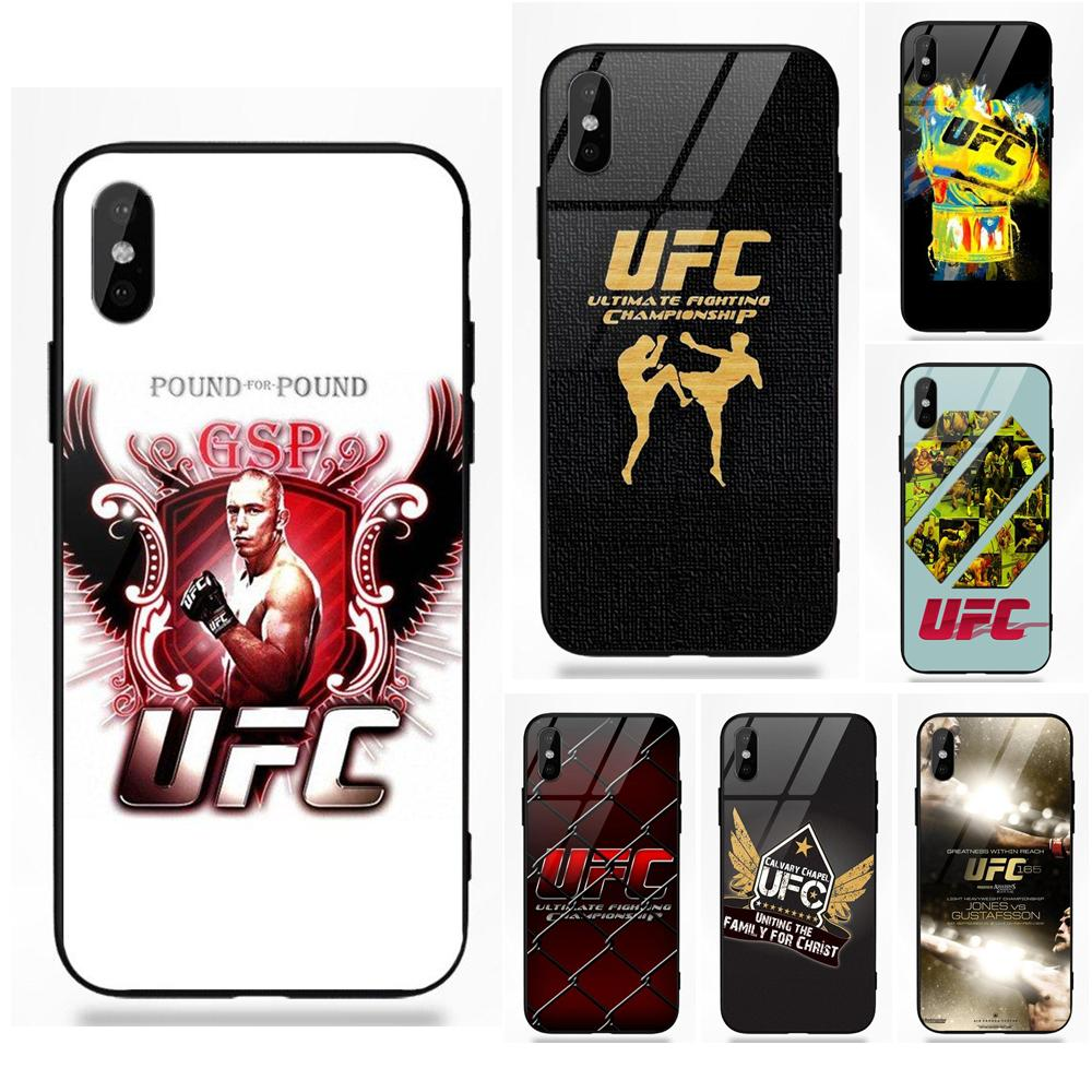 Ufc Tapout 2: Tapout Flames Ufc Logo For Apple IPhone X XS Max XR 5 5C