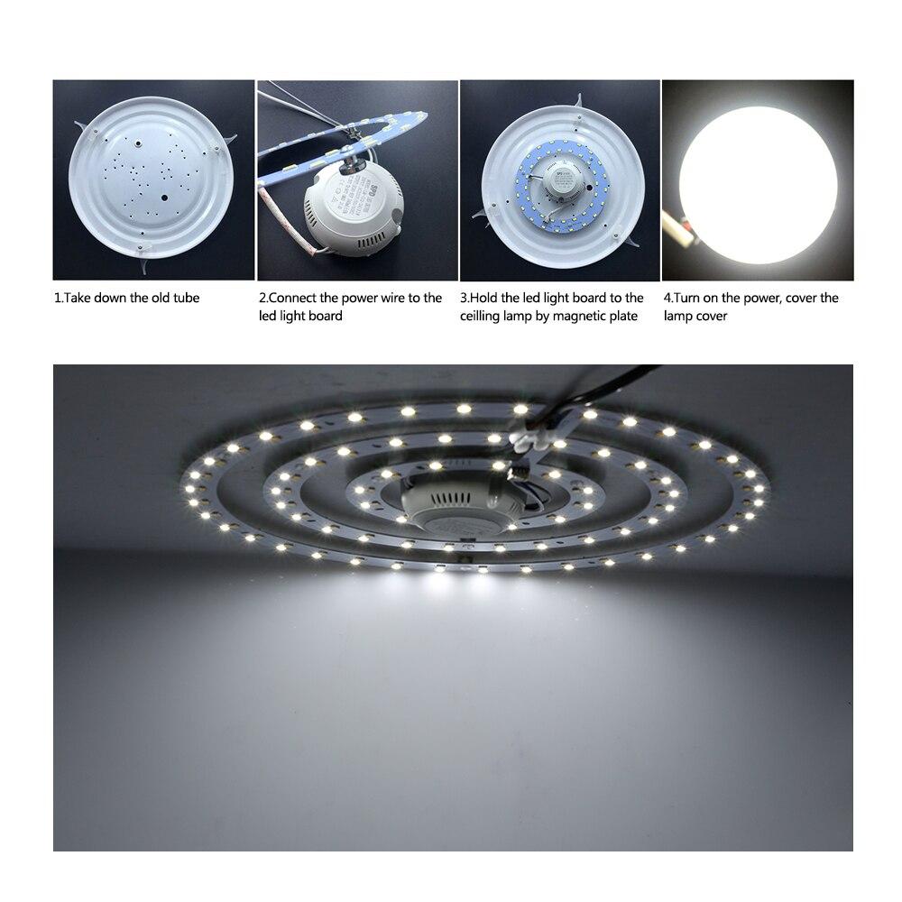 LED Downlight Weißes/Warmes Weiß Einstellbare Bequemer Installation ...