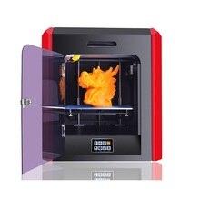 FDM 3D Принтер Горячей Продажи Пластиковых PLA ABS ТПУ Материал Размер Сборки 200*200*200 мм Сенсорный Экран 3D Impresora для Школьного Образования