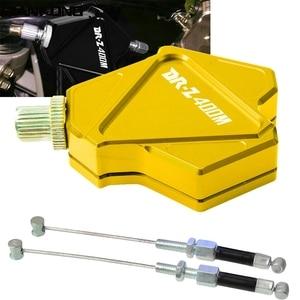Accesorios de la motocicleta palanca de embrague Easy Pull sistema de Cable para Suzuki DRZ400SM 2000, 2001, 2002, 2003, 2004, 2005, 2006, 2007 DRZ400SM
