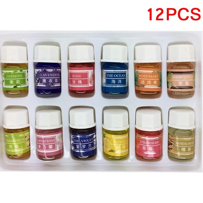 12pcs set skin care lavender oil essential oils pack for aromatherapy spa bath massage fragrance bs88