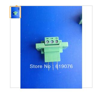UL approved 3PIN Pitch 5 08 Wear wall type Terminal blocks