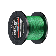 цена на Super Strong Fishing Line 300m 500m 1000m Multifilament PE Braided Line 4 Strands Fishing Wire Green