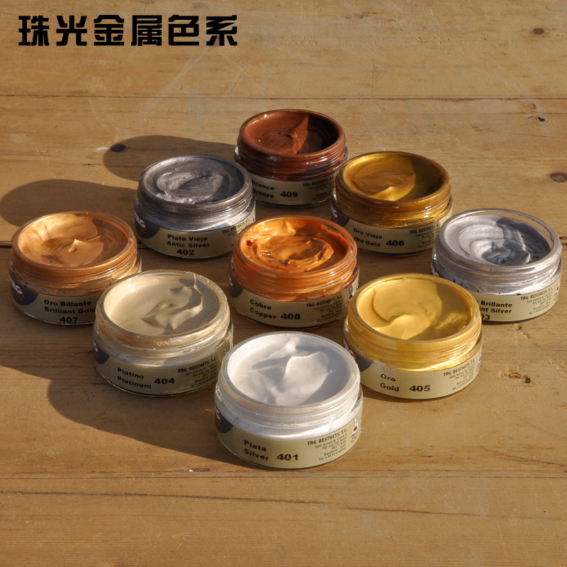 Us 11 5 8 Off 50ml Leather Dyeing Agent Gold Silver Shoes Paint Color Changing Products Color Renovation In Water Color From Office School