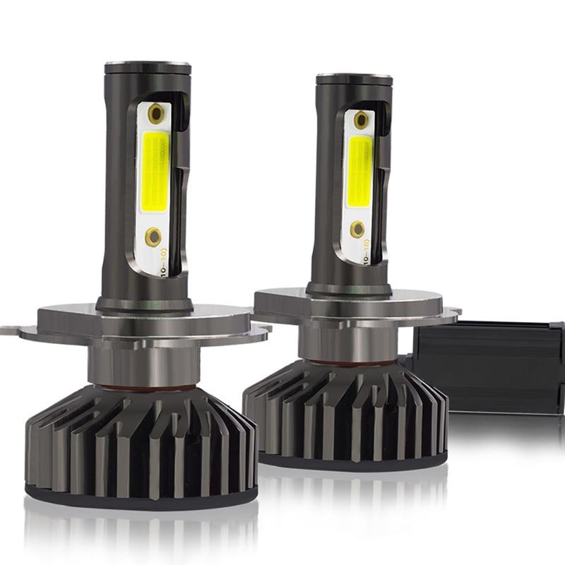 YHKOMS Car Headlight H7 LED H4 Canbus Mini Size LED Bulb H1 H8 H9 H11 9005 HB3 9006 HB4 No Radio Interference COB LED Fog Light|Car Headlight Bulbs(LED)| |  - title=
